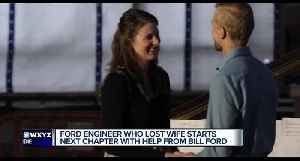 Ford engineer who lost wife starts next chapter with help from Bill Ford [Video]