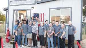 High School Students Build Houses for Veterans [Video]