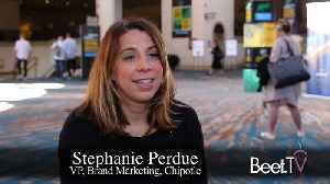 Multiple Media Channels Drive the Flywheel: Chipotle's Perdue [Video]