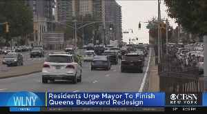De Blasio Under Pressure To Complete Queens Boulevard Redesign [Video]