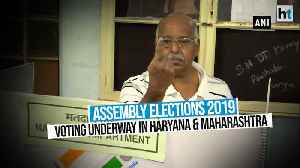 News video: Assembly Elections 2019 | Voting begins in Haryana and Maharashtra