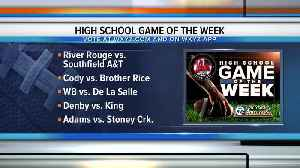 News video: Voting open for WXYZ Game of the Week: 2019 Week 9