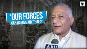 India's forces always ready to counter any threat: Union Minister VK Singh [Video]