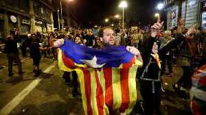 Pro-separatists stage new Barcelona rallies [Video]