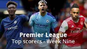 News video: Premier League top scorer: Who leads the race for the golden boot?