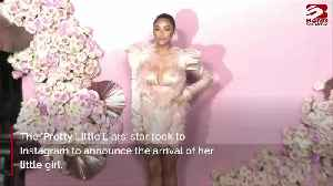 Shay Mitchell gives birth to baby girl [Video]
