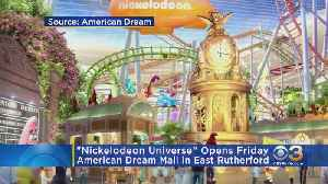 News video: Nickelodeon Universe Opens This Week In New Jersey