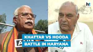 Haryana polls: CM Khattar confident of victory, Hooda says battle is on [Video]