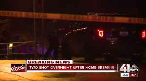 KCPD: Home break-in turns into shooting [Video]
