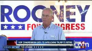 News video: Rep. Francis Rooney says he's not running for re-election