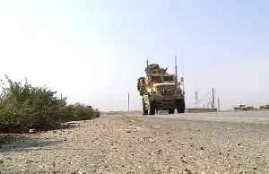 News video: U.S. troops leave Syria, cross into Iraq