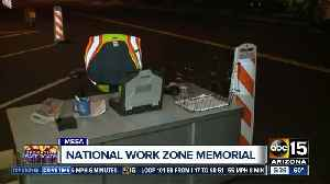 National Work Zone Memorial display shows importance of safety on the roads [Video]