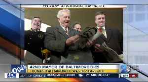 News video: 42nd Mayor of Baltimore, brother of Nancy Pelosi dies at 90