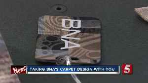 Fashion line features pattern on Nashville International Airport's carpet [Video]