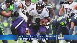 News video: Jackson's Legs, Ravens Defense Roll Past Seahawks 30-16