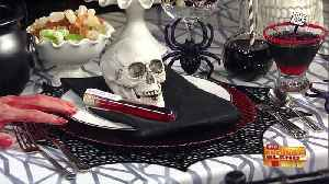 Halloween Party Ideas So Chic, They'll Scare You! [Video]