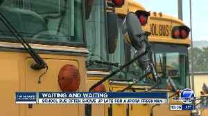 Cherry Creek School District parent says school bus delays are causing his son to miss class [Video]
