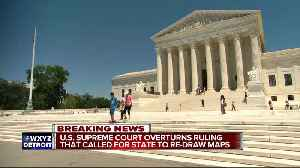 News video: Supreme Court overturns ruling in Michigan gerrymandering case