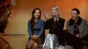 News video: 'Terminator: Dark Fate': Exclusive Interview With Mackenzie Davis, Natalia Reyes & Gabriel Luna