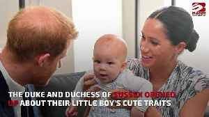 Prince Harry's son Archie is 'chatty' [Video]