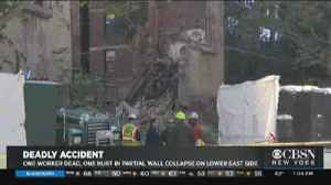 1 Killed, 1 Injured After Wall Collapses On Lower East Side [Video]