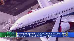 Boeing Says It Regrets Concerns Over Internal Messages [Video]