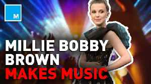 News video: Millie Bobby Brown is eyeing a music career