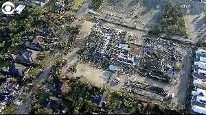 WEB EXTRA: Dallas Tornado Damage [Video]