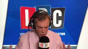 Nigel Farage's Reaction To John Bercow's Vote Decision Today [Video]