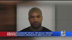 Pelham Church Shooting Suspect Dale Holloway Allegedly Injures Attorney During Attack [Video]