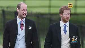 Prince Harry Breaks Silence On Rumored Rift With His Brother William [Video]
