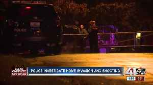KCPD investigates home invasion, shooting [Video]