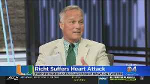 Former Hurricanes Football Head Coach Suffers Heart Attack [Video]