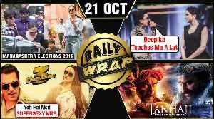 Salman, Aishwarya Cast Vote, Deepika's Tips To Ranveer, Dabangg 3 Trailer Details | Top 10 News [Video]