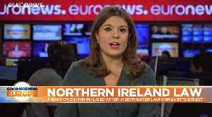 Northern Ireland legalises abortion and same-sex marriage [Video]