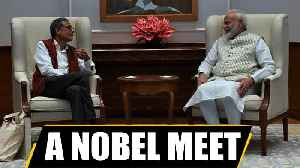 News video: PM Modi met Nobel laureate Abhijit Banerjee | Oneindia News