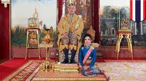 News video: Thai king strips official side piece of royal titles for disloyalty