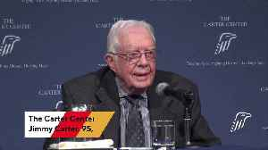 Jimmy Carter Hospitalized After Fall [Video]