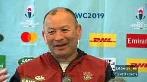 Rugby World Cup pressure on All Blacks, says Eddie Jones [Video]