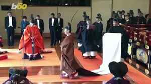 Japan Enthronement Ceremony Brings Royal Dignitaries From Around the World [Video]