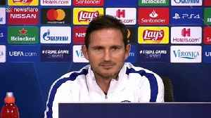'That's just my face!' Frank Lampard has funny exchange with reporter [Video]