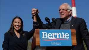 Sanders' New Ad Includes Alexandria Ocasio Cortez's Endorsement [Video]