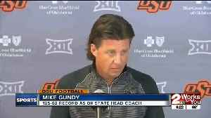 Mike Gundy goes on 'mini-rant' defending state of program after 3rd loss in 4 Big 12 games [Video]