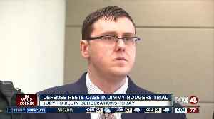 Defense rests in Rodgers trial; jury deliberations to begin Tuesday [Video]