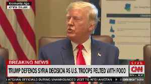 Trump defends Syria withdrawal decision [Video]