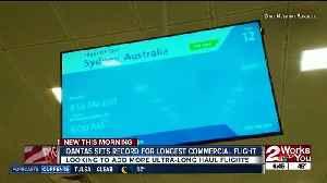 Qantas sets record for longest commercial flight [Video]