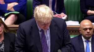 PM Johnson tells lawmakers: pass Brexit deal and Britain can unite again [Video]