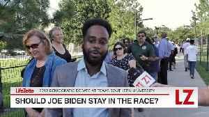 'Should Joe Biden Stay in the Race?' [Video]