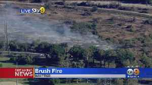 Brush Fire Erupts In Whittier [Video]