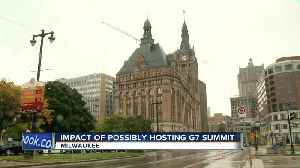 Mayor Barrett proposes a G7 Summit in Milwaukee in 2020 [Video]